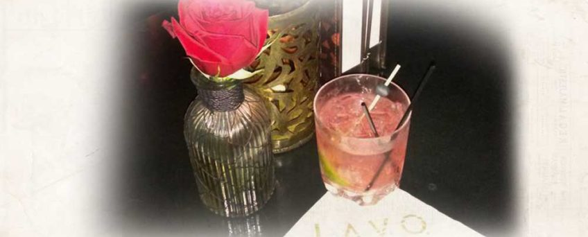 Vodka Cranberry and Sprite Cocktail at Lavo