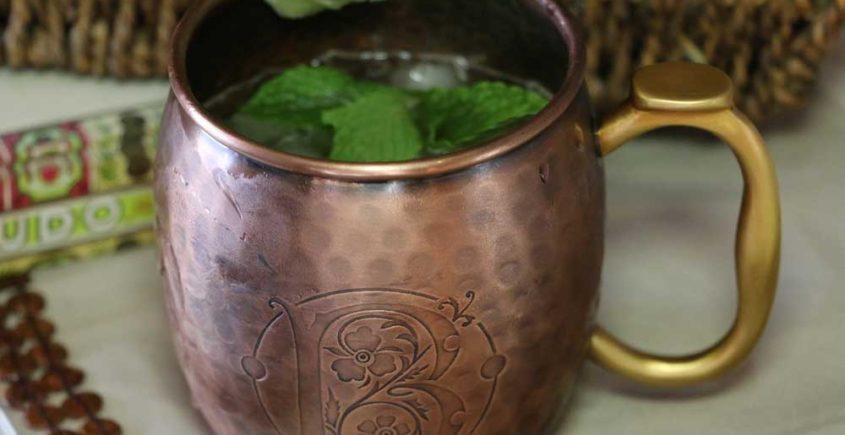 Bootleg Botanicals Cuban Mule Cocktail