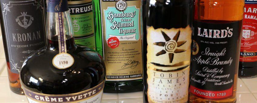 Unique Liquors Needed for Mr. Boston's Experiment