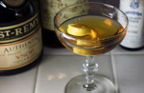 The Brandy Cocktail - Mr. Boston's 1935