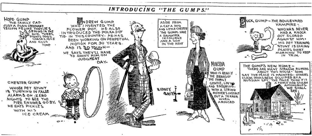 The Gumps Comic Strip
