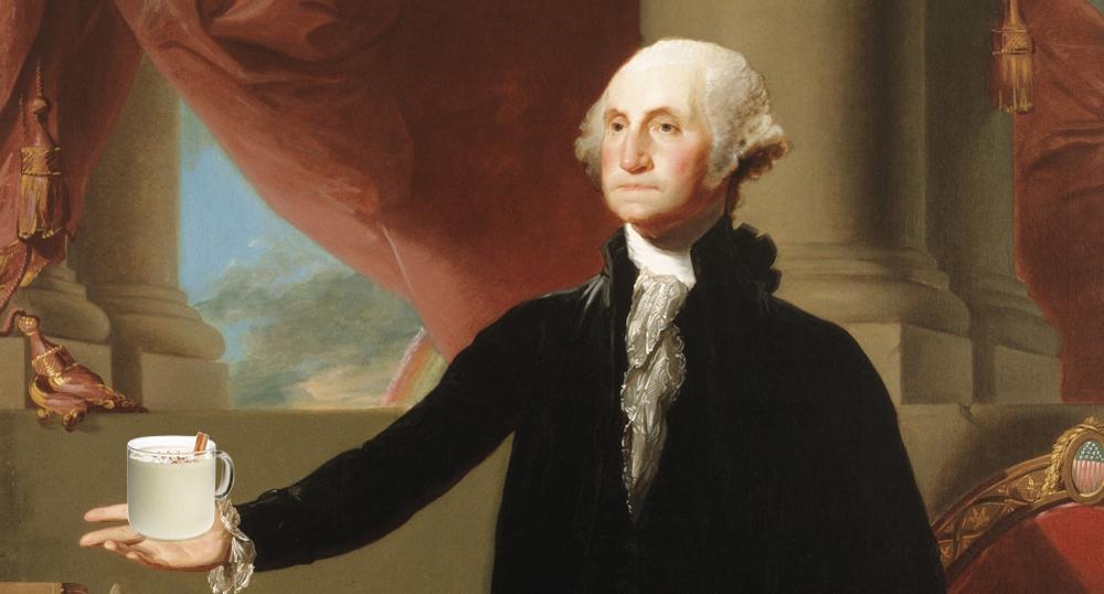 George Washington's Egg Nogg