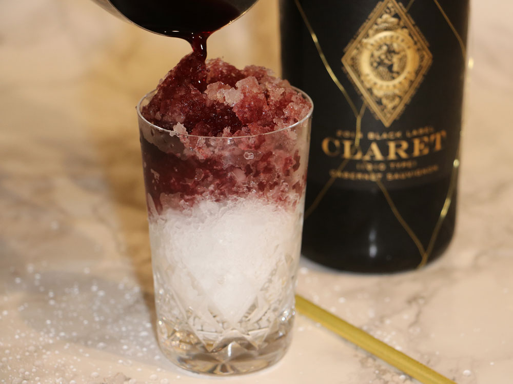 Claret Cobbler Cocktail
