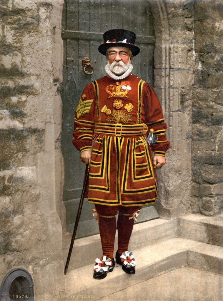 Beefeater or Yeoman Warder circa 1890