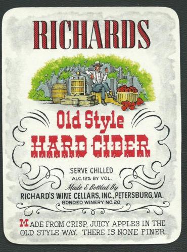 Hard Cider Label