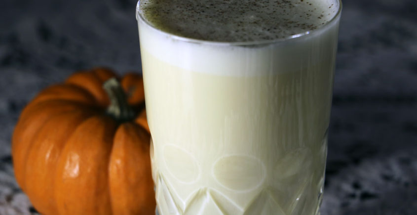 Pumpkin Eggnog Latte Cocktail