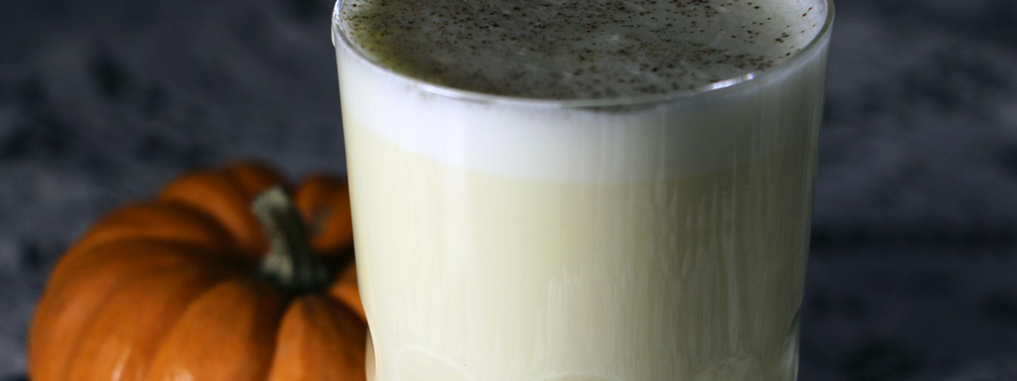 Pumpkin Eggnog Latte Cocktail
