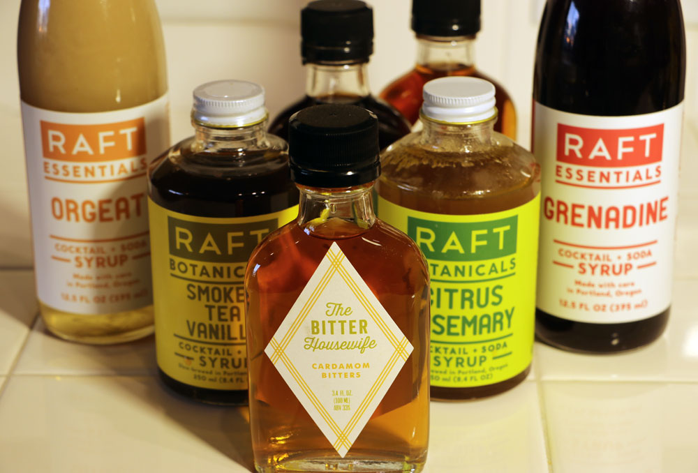 Impropergoods line of Syrups and Bitters